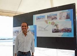 Alcalde Fernando Yunes Márquez supervisa la remodelación del Boulevard Manuel Ávila Camacho