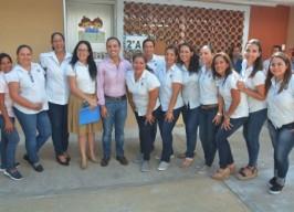 """Inaugura Fernando Yunes Márquez obras en jardín de niños """"Rosaura  Zapata"""""""