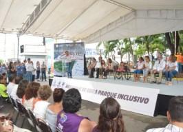 Inicia Fernando Yunes Márquez la construcción del primer parque inclusivo del estado