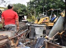 Controlan bomberos de Veracruz incendio en la Reserva 3
