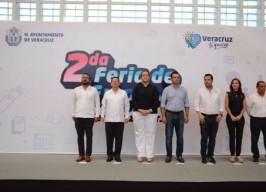 Se realiza la Segunda Feria del Empleo en lo que va de esta administración del alcalde Fernando Yunes Márquez