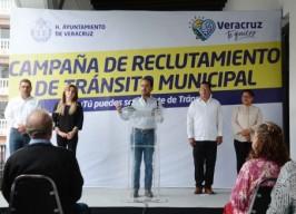 Anuncia alcalde Fernando Yunes Márquez municipalización de Tránsito