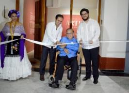 """Inaugura Alcalde Fernando Yunes Márquez la exposición """"Arte recuperado"""""""