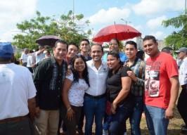 Inaugura alcalde Fernando Yunes Márquez rehabilitación del Parque  Torrentes