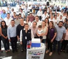 Alcalde Fernando Yunes Márquez da inicio a campaña de vacunación  contra la influenza en el municipio