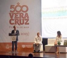 Presentan el libro y documental de los 500 Años de Veracruz