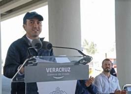 Acompaña alcalde Fernando Yunes Márquez al Gobernador Miguel Ángel Yunes Linares a inauguración de Puente Superior Vehicular Nuevo Veracruz
