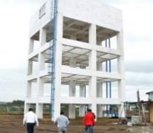 Inaugura Alcalde Fernando Yunes Márquez el tanque elevado en Reserva Tarimoya