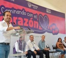 """""""Caminando con el corazón"""" beneficiará a más de 4 mil mujeres del municipio, da a conocer el alcalde Fernando Yunes Márquez"""